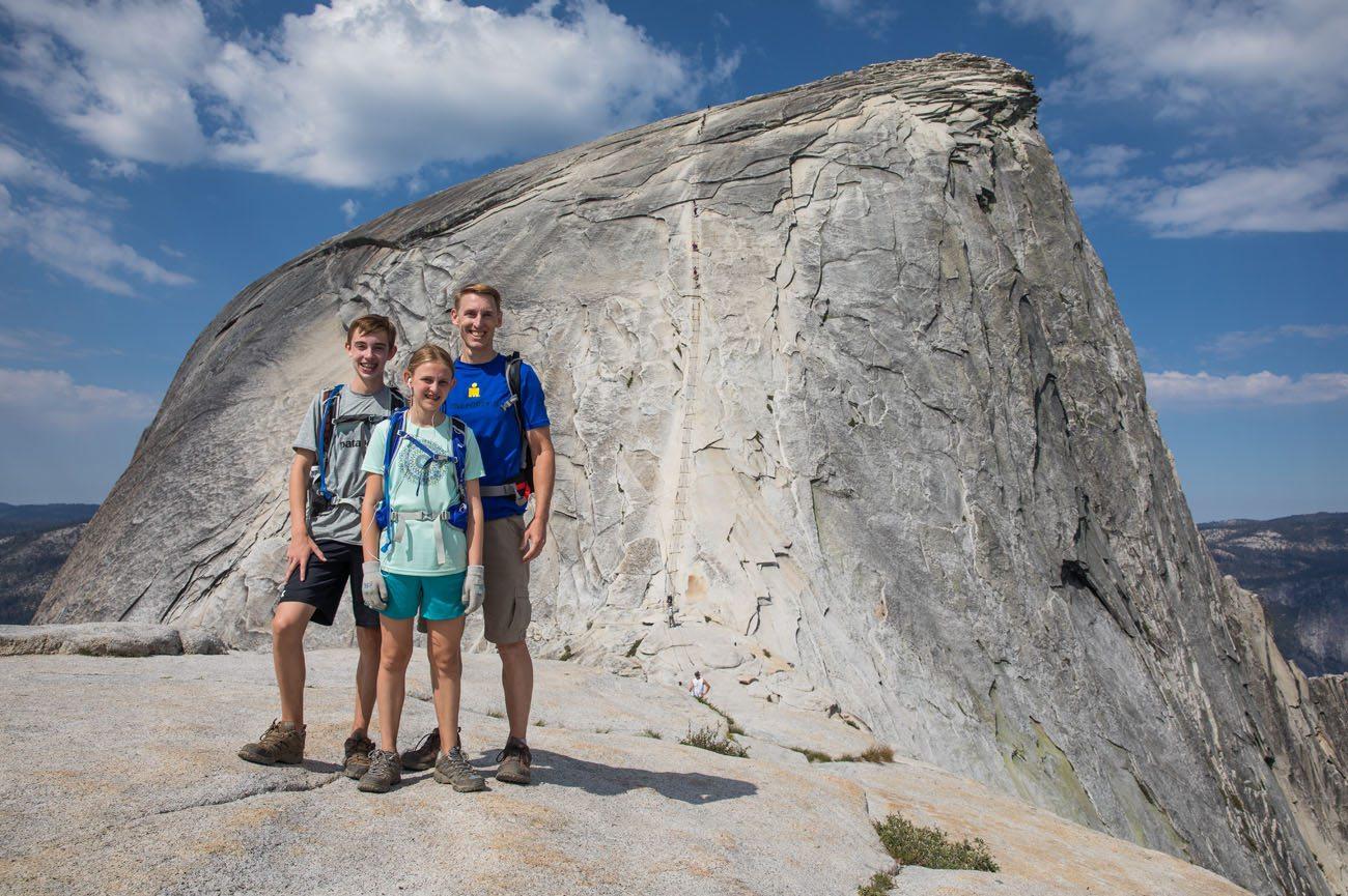 Earth Trekkers Half Dome