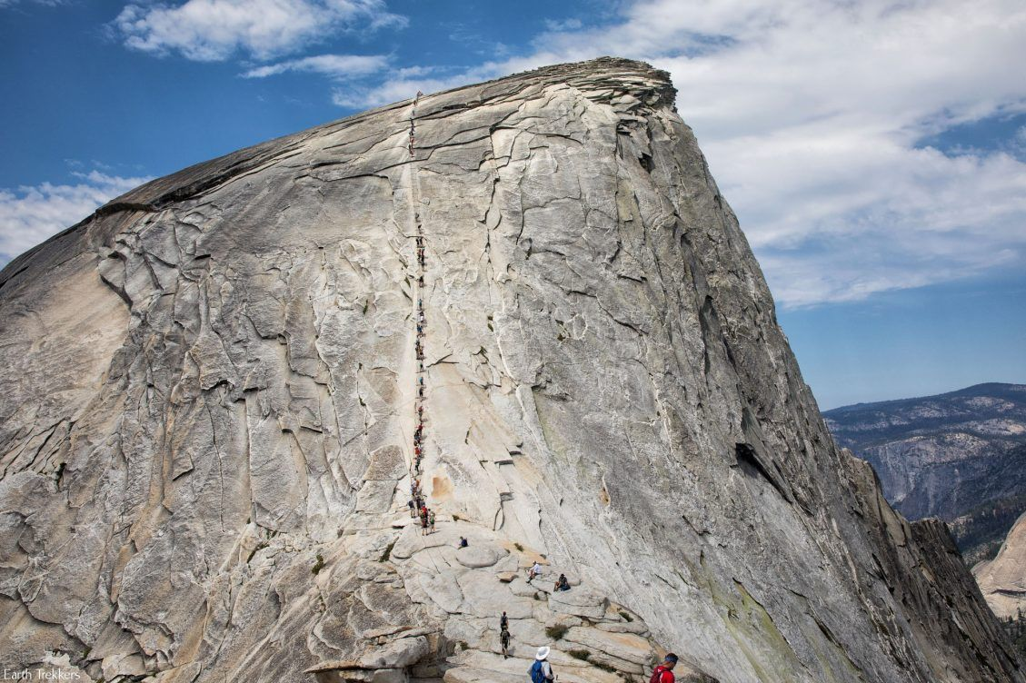 Climbing The Half Dome Cables A Journey In 18 Photos