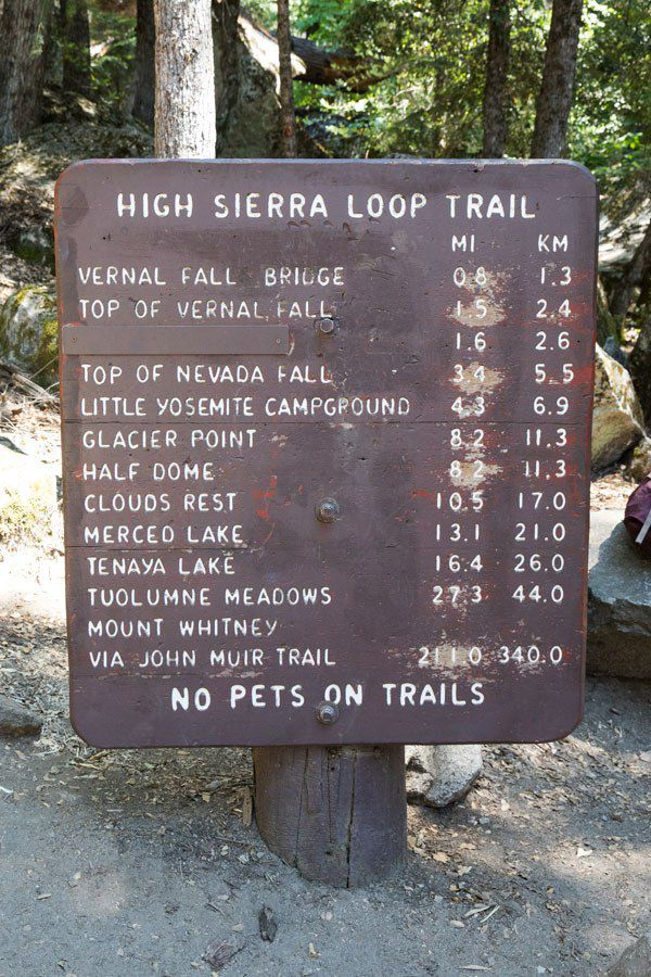 High Sierra Loop Trail