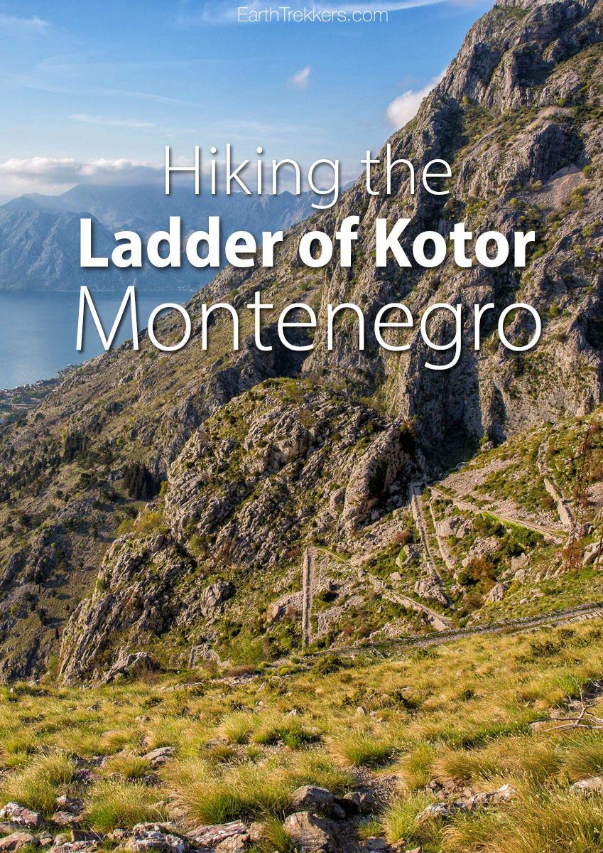 Hike Ladder of Kotor