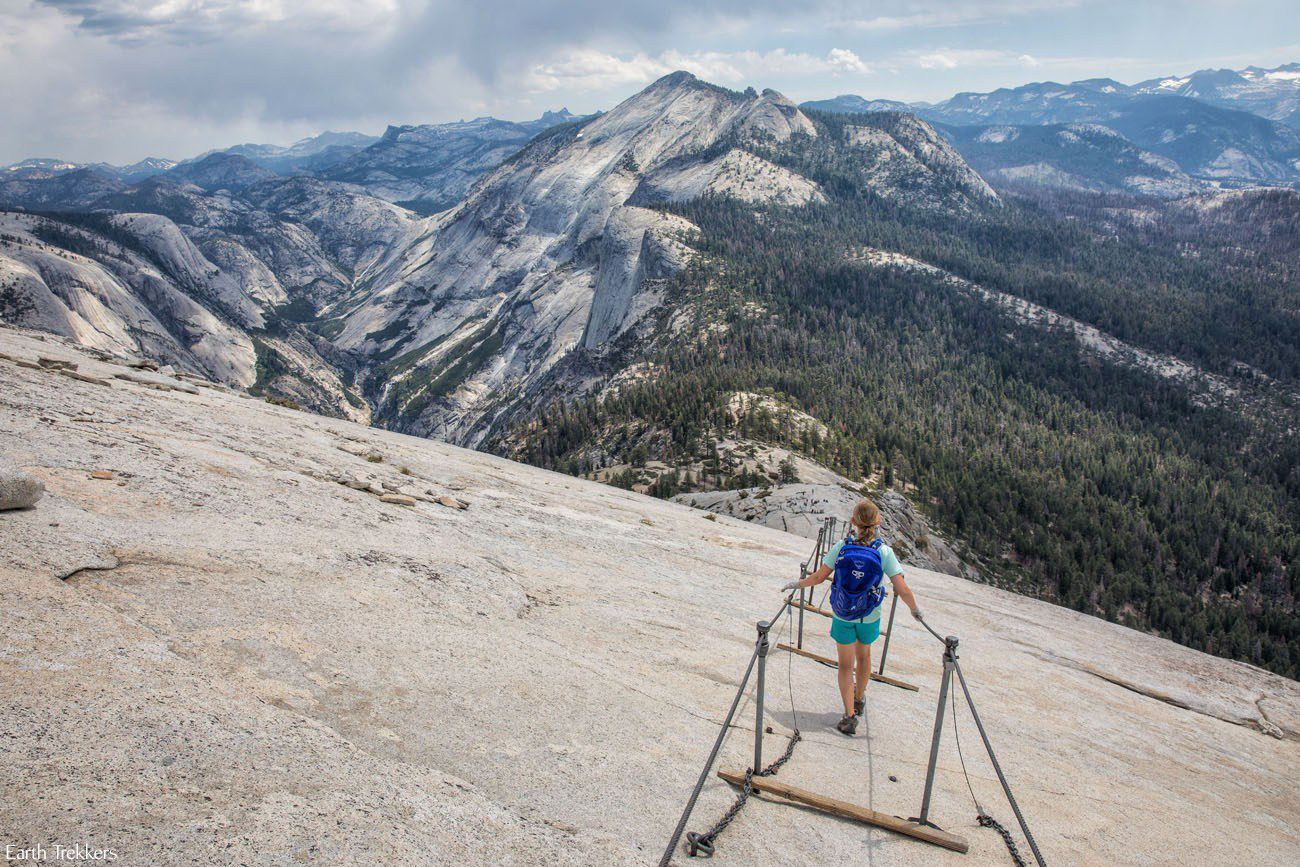 Hiking Half Dome with Kids