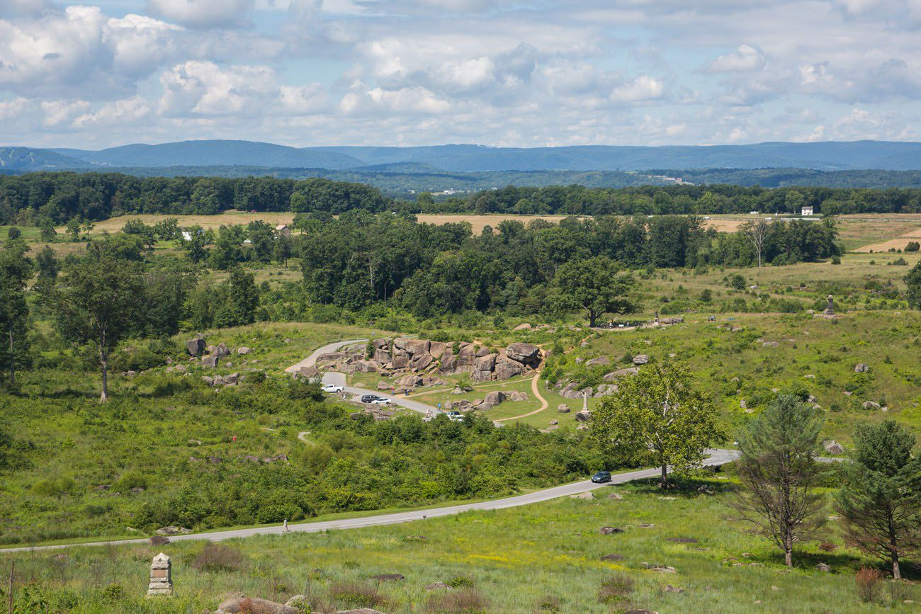 Little Round Top View