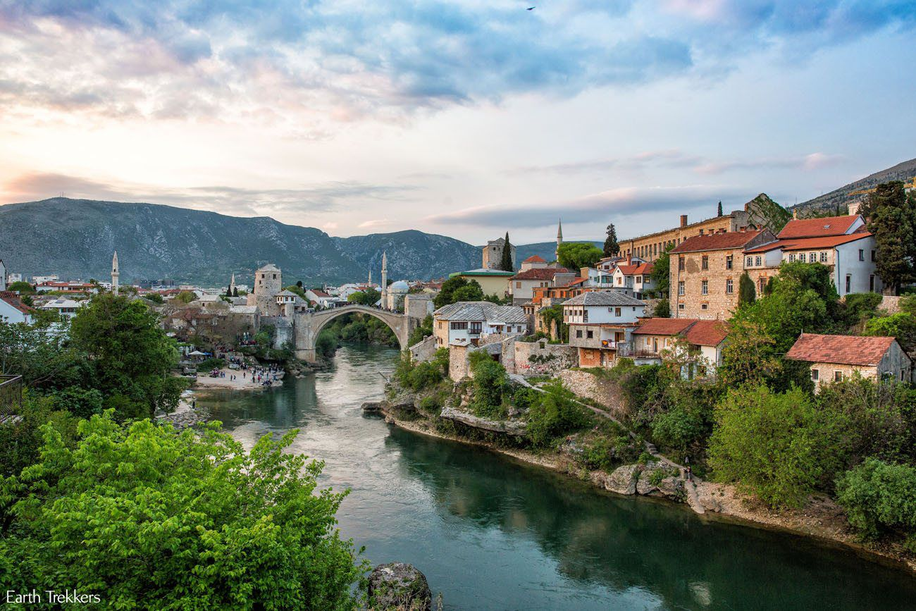 Mostar Sunset