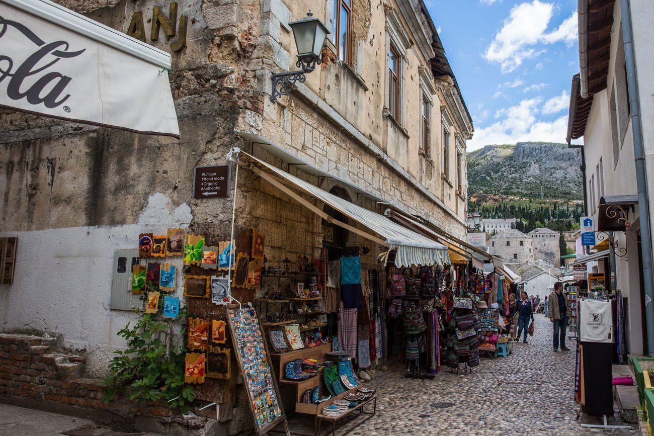 Mostar War Wounds