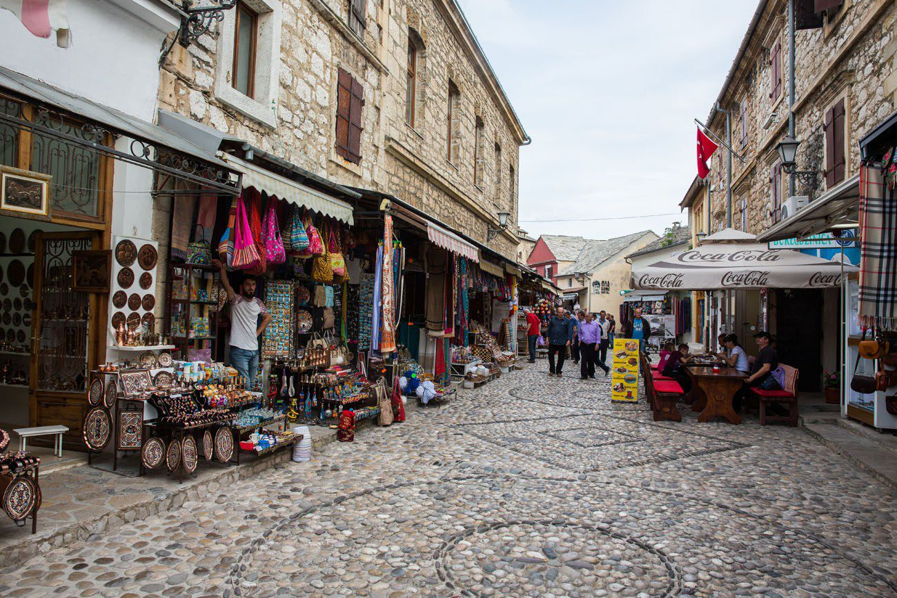 Old Town Mostar Street