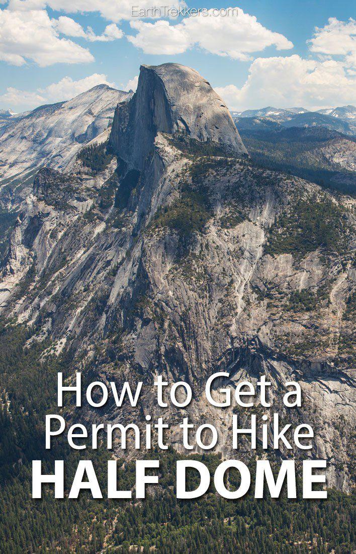 Permit Half Dome