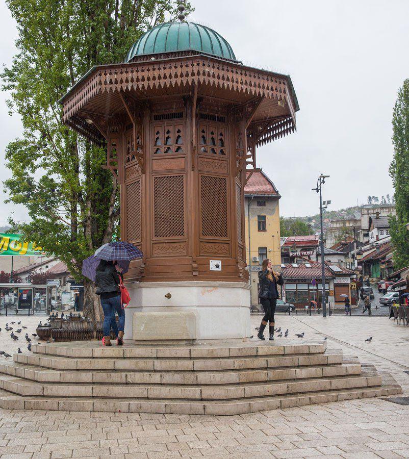 Sarajevo Fountain