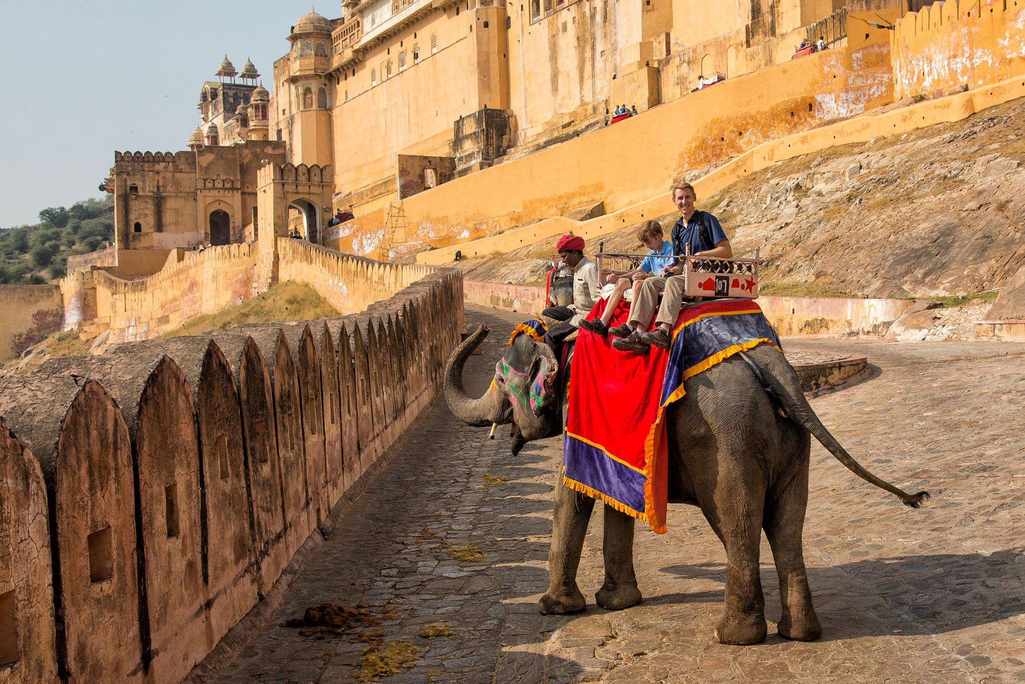 Snake Charming and Elephant Riding in Jaipur, India