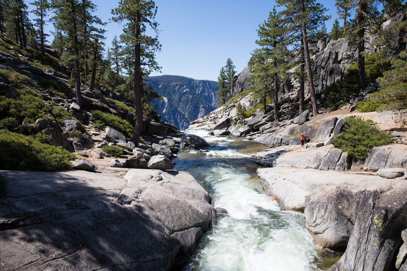 Upper Yosemite Falls River
