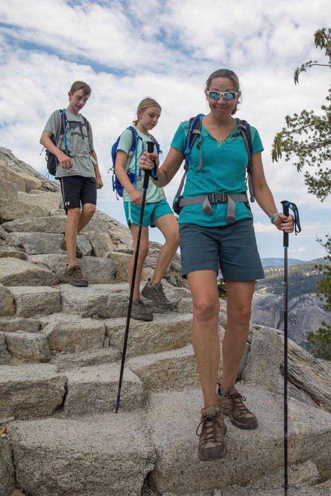 Yosemite Hiking Half Dome