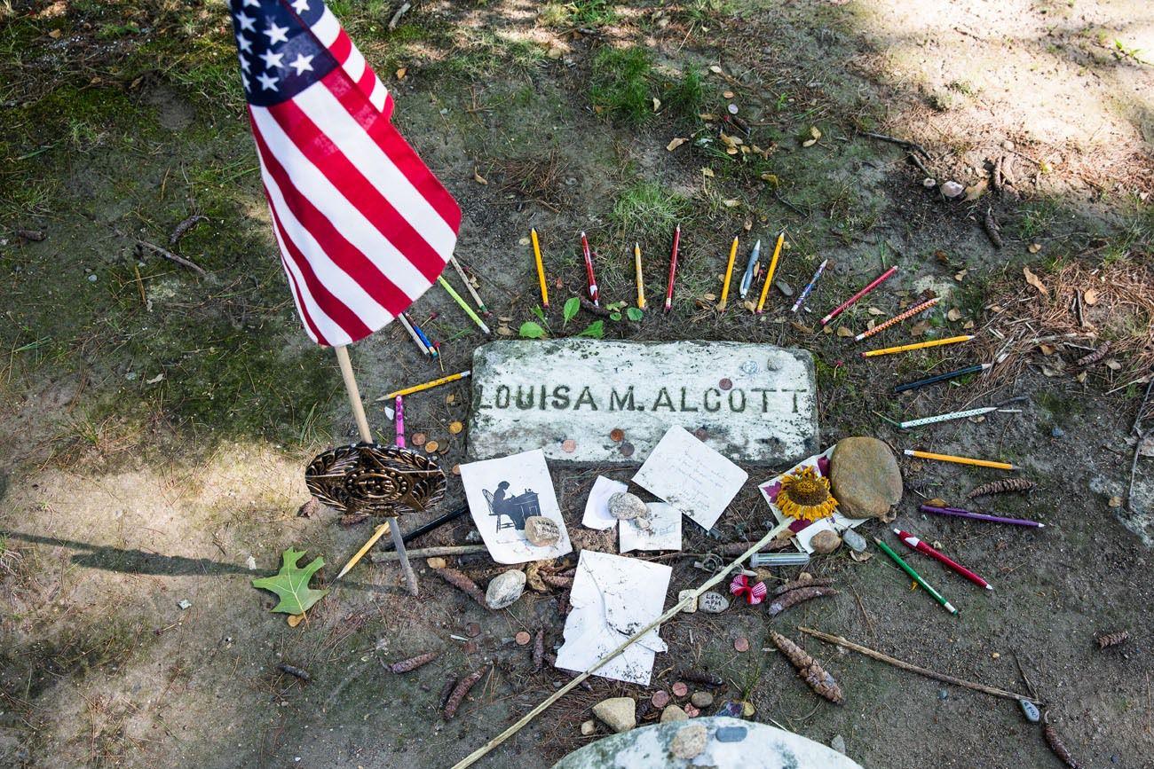 Alcott Burial Site