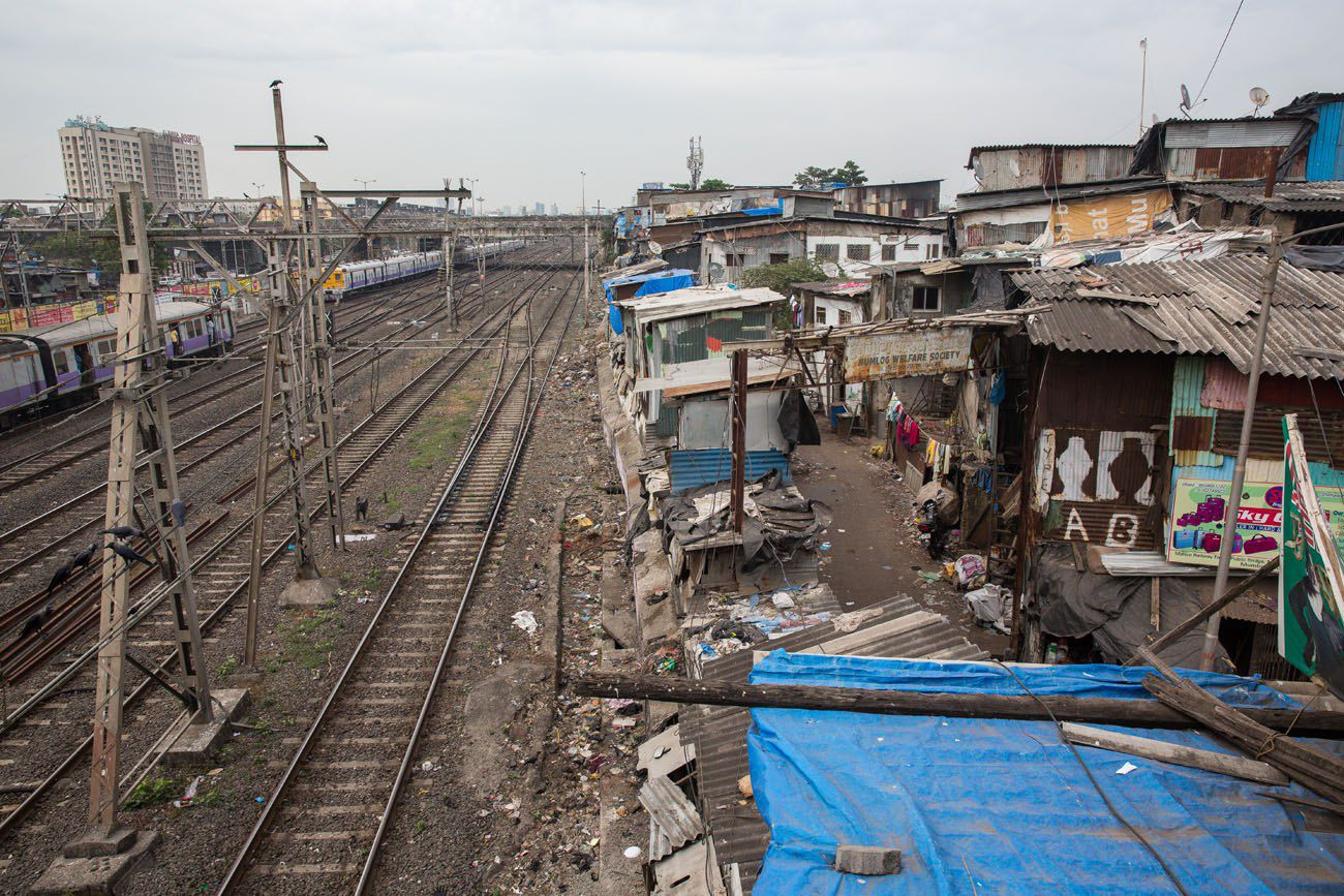 Arriving in Dharavi
