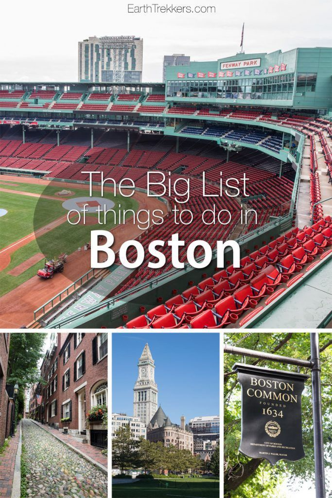 Boston Best things to do