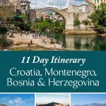 Croatia Montenegro Bosnia Itinerary