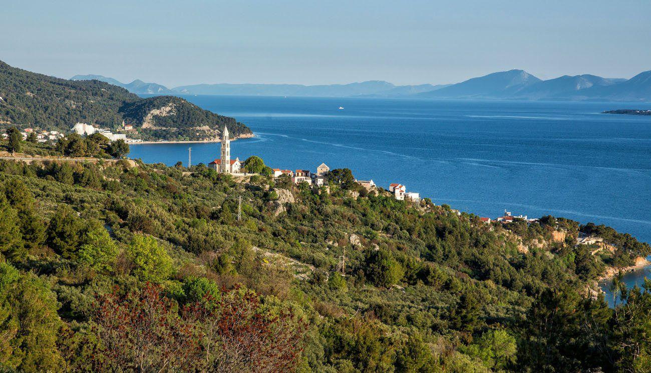 Dalmatian Coast balkan peninsula itinerary