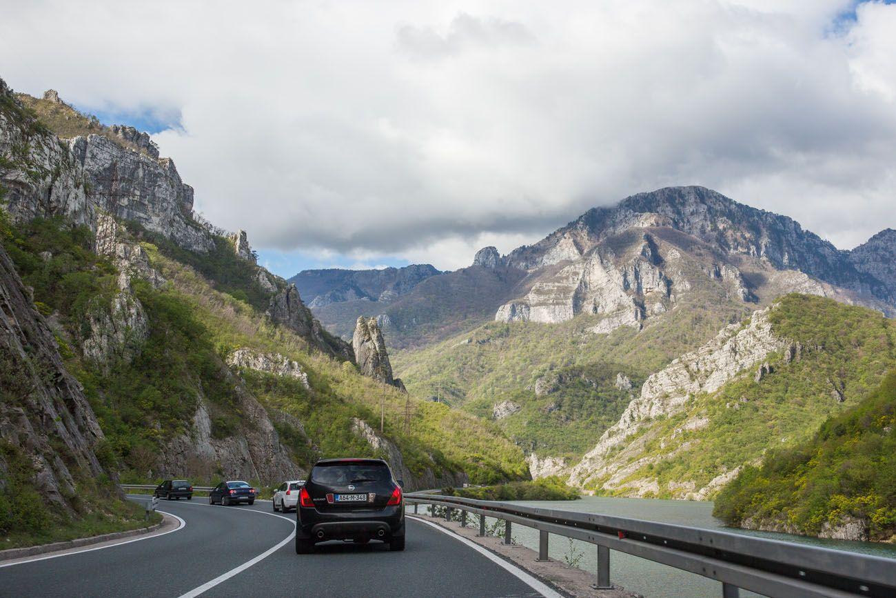 Driving in Bosnia