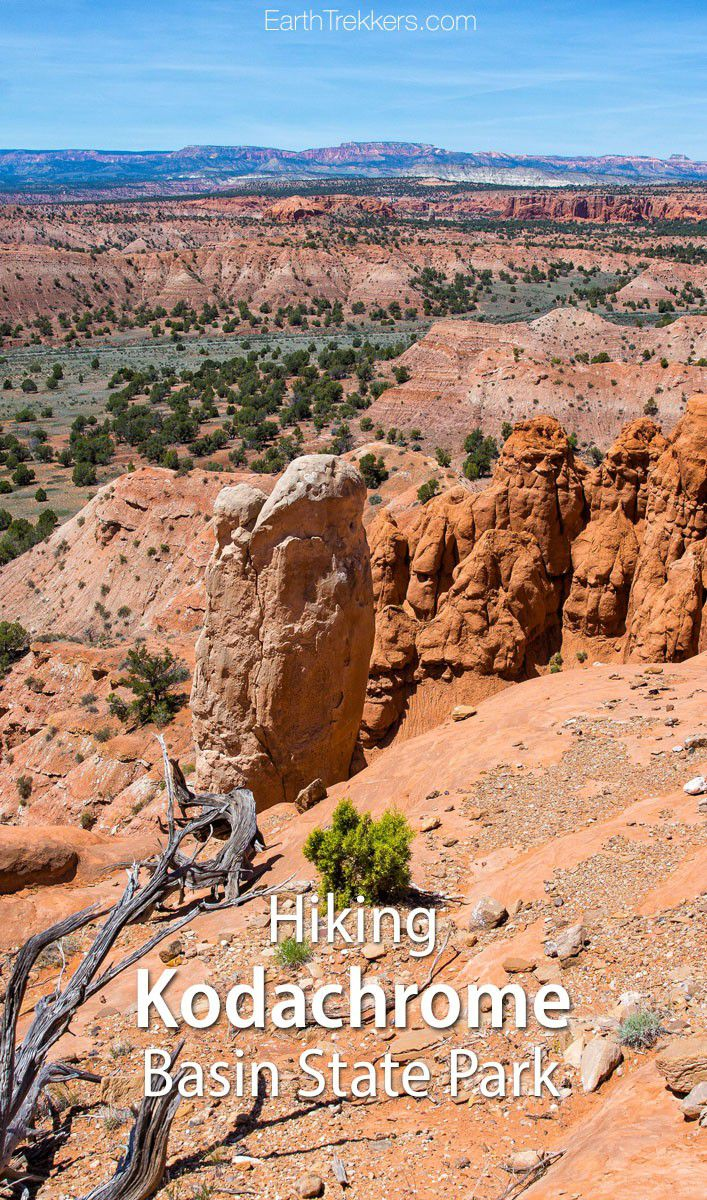 Hiking Kodachrome Basin Utah