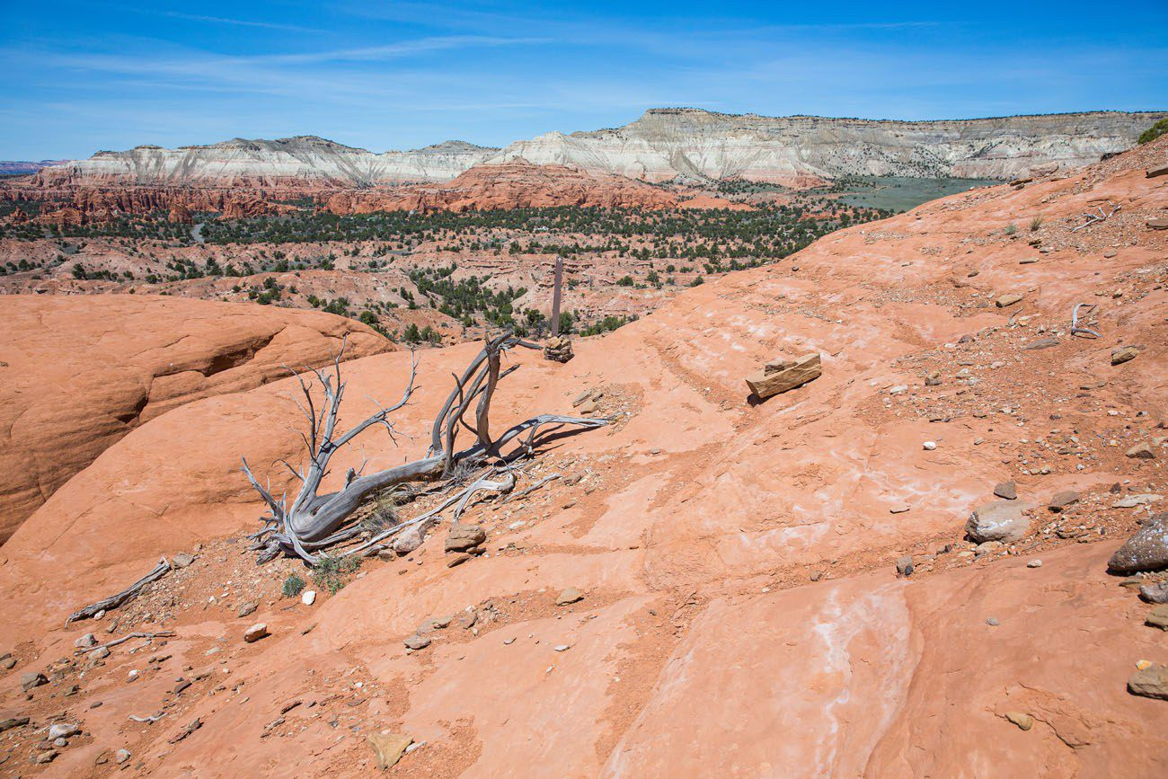 Hiking Kodachrome Basin