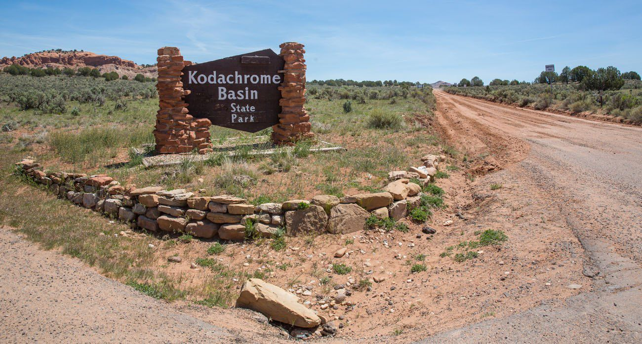 Kodachrome Entrance