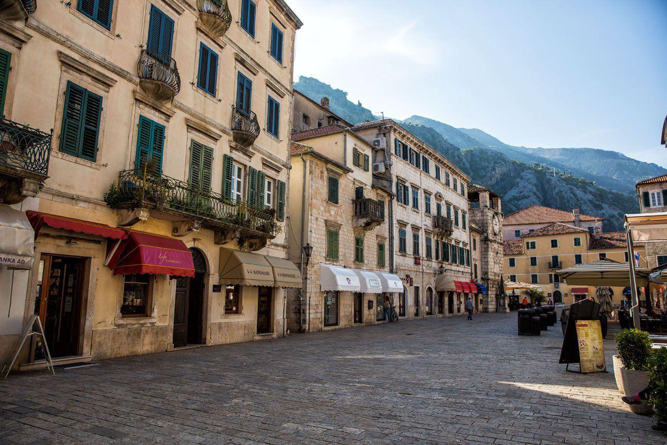 Kotor Old Town balkan peninsula itinerary