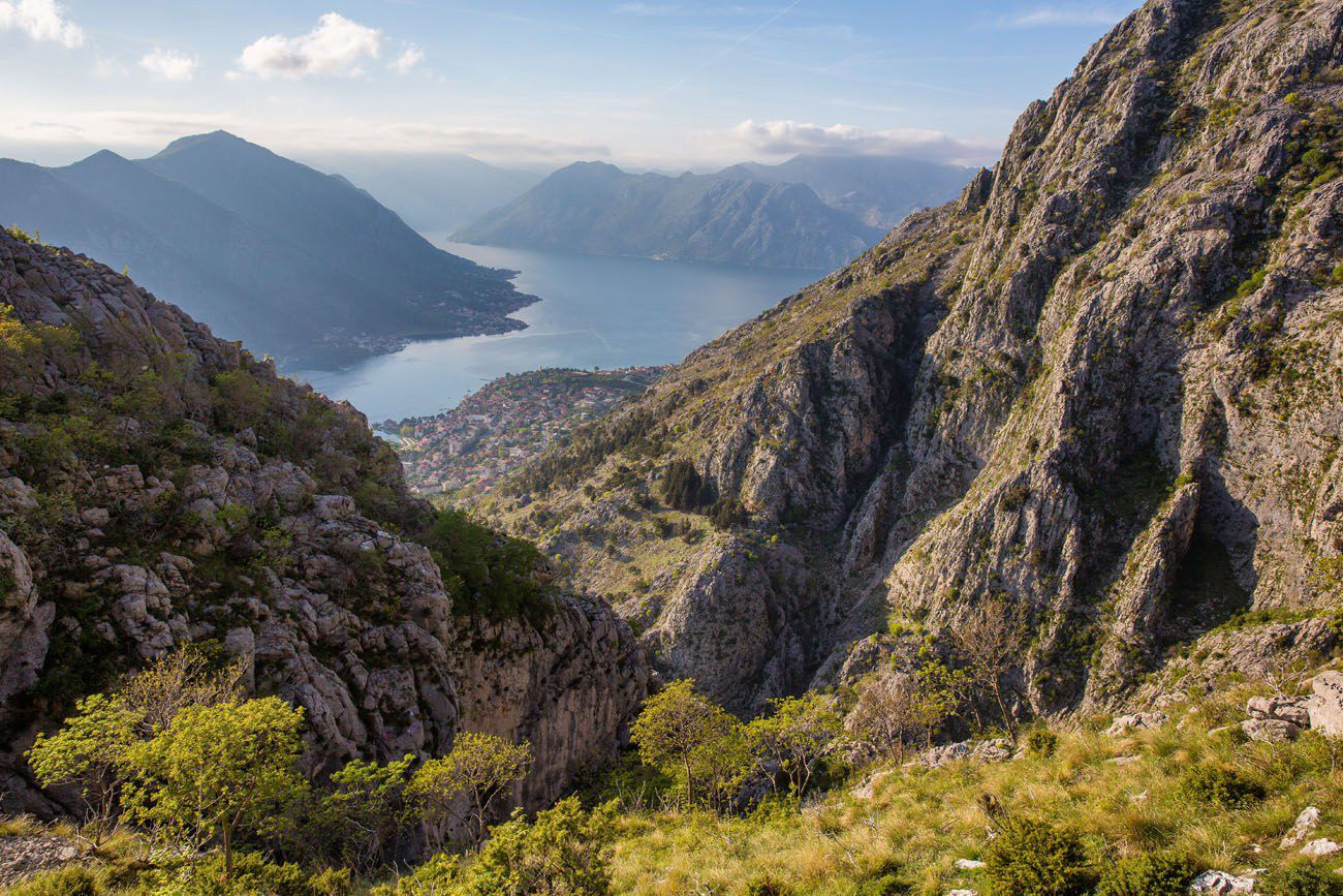 Ladder of Kotor balkan peninsula itinerary