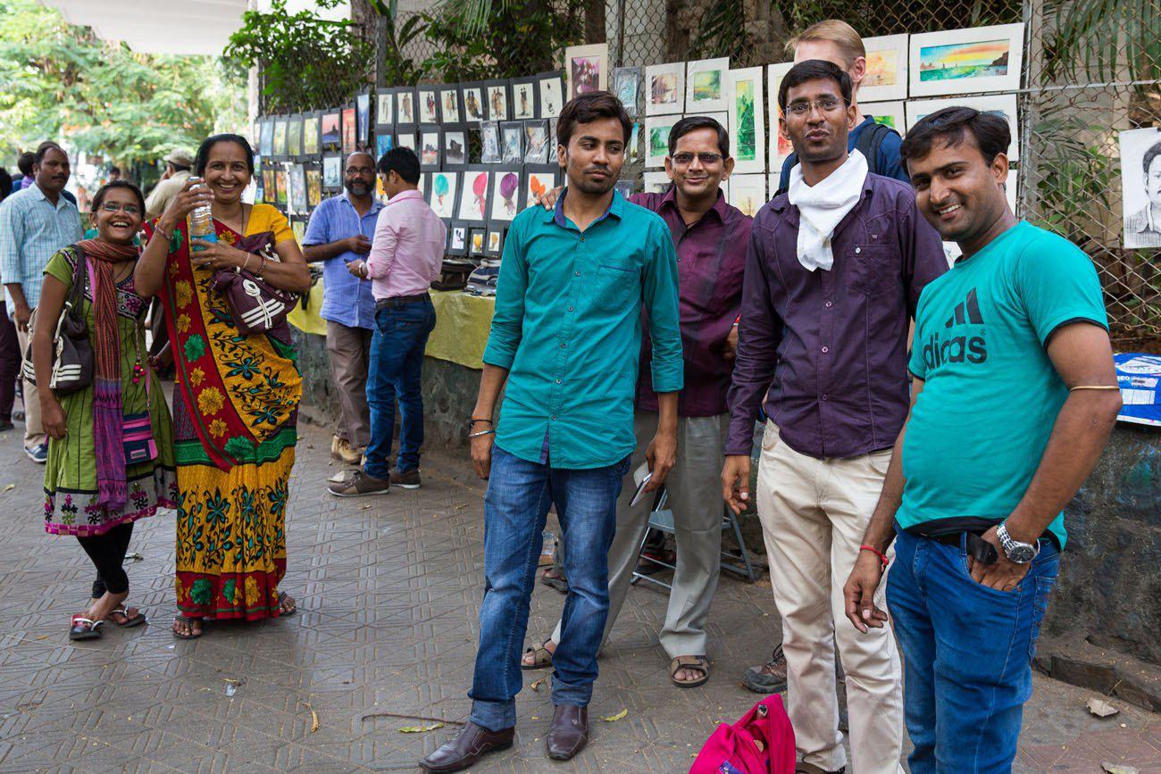 Meeting People in Mumbai