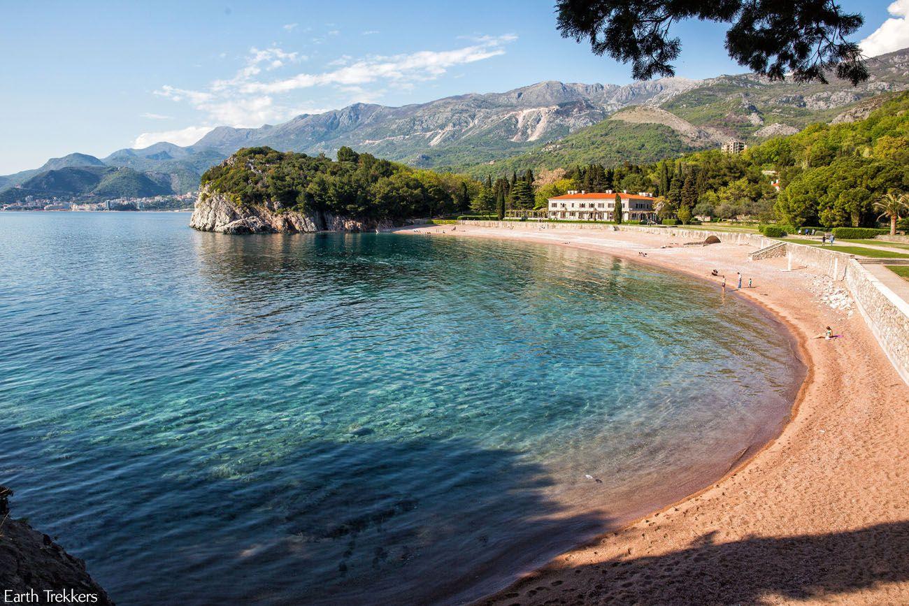 Milocer Beach Montenegro