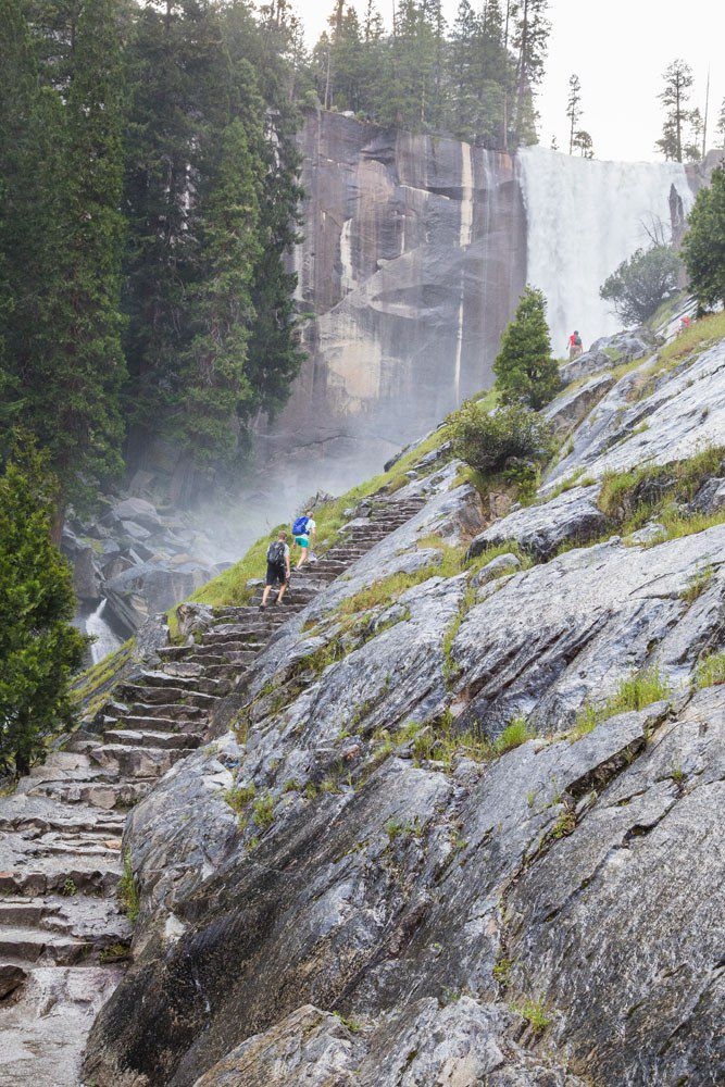 Mist Trail Steps