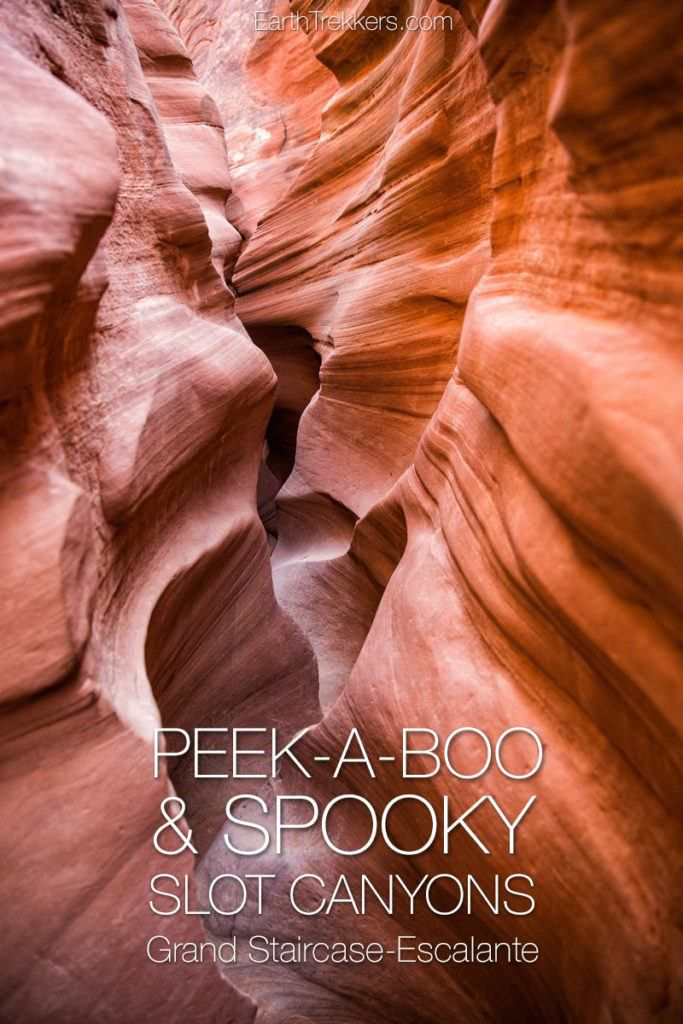 Peek A Boo Spooky Slot Canyons