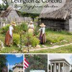Plymouth Lexington Concord Boston