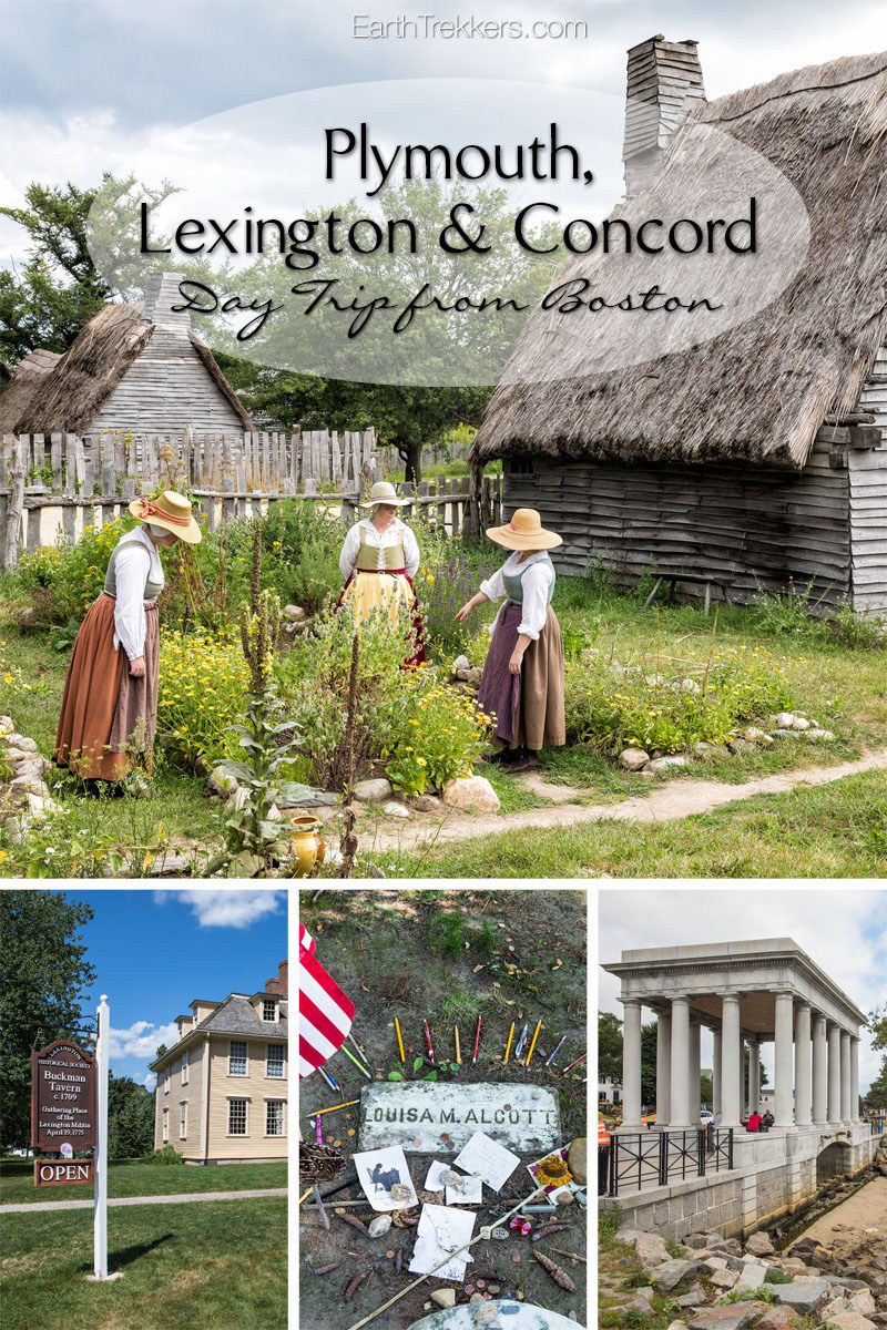 Plymouth Lexington Concord Boston
