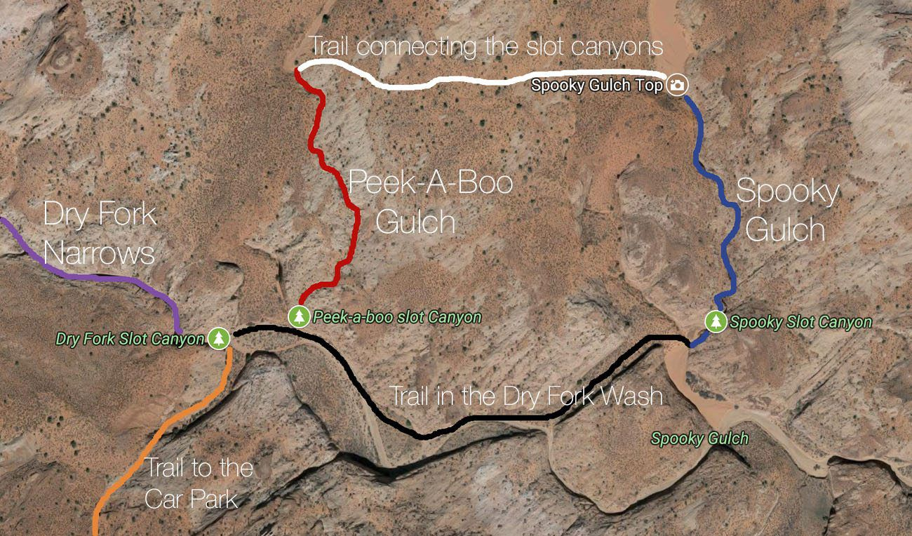 Spooky Gulch Map