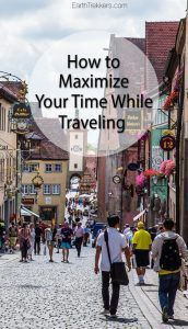 Travel Advice Maximize your Time