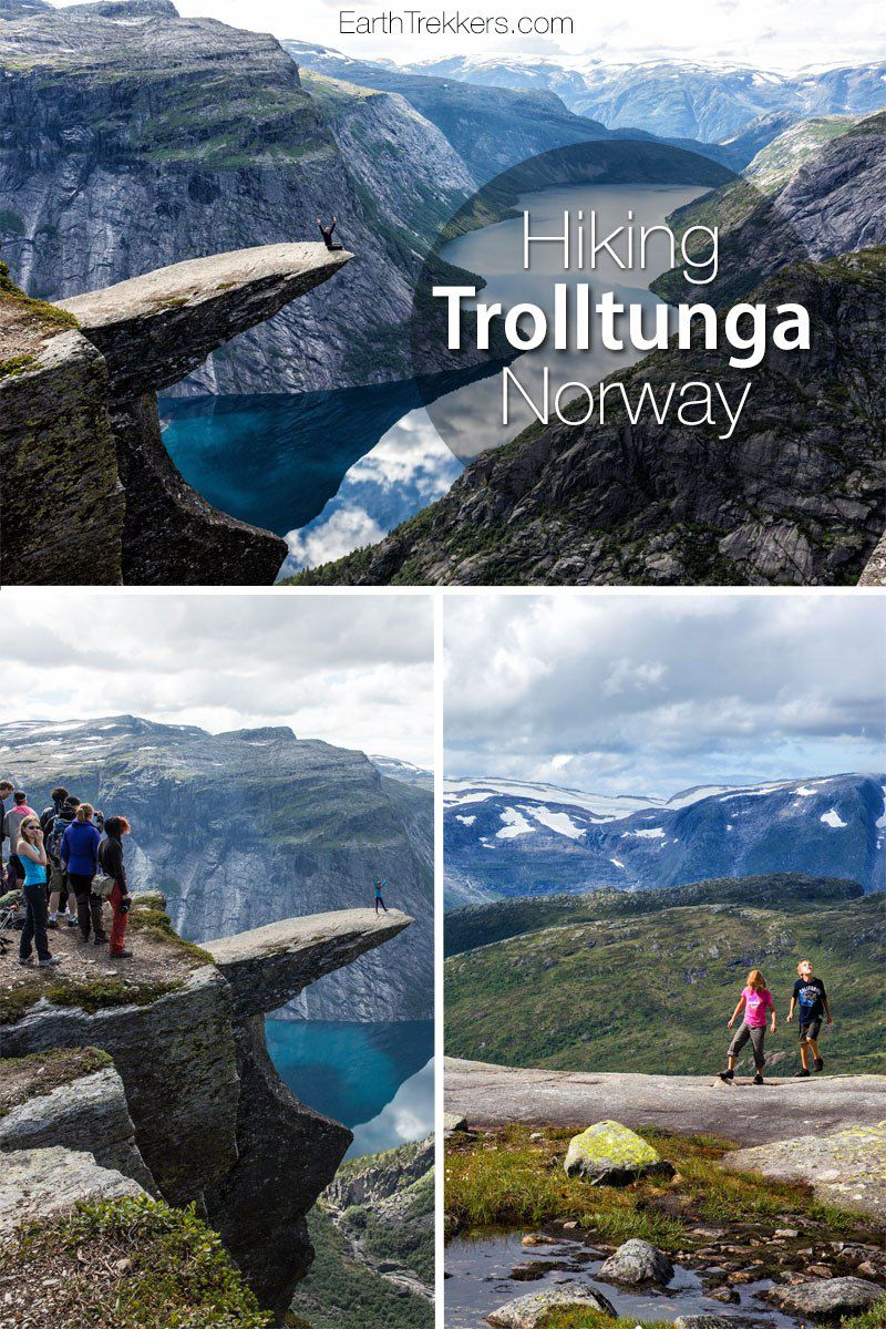 Trolltunga Norway Hike