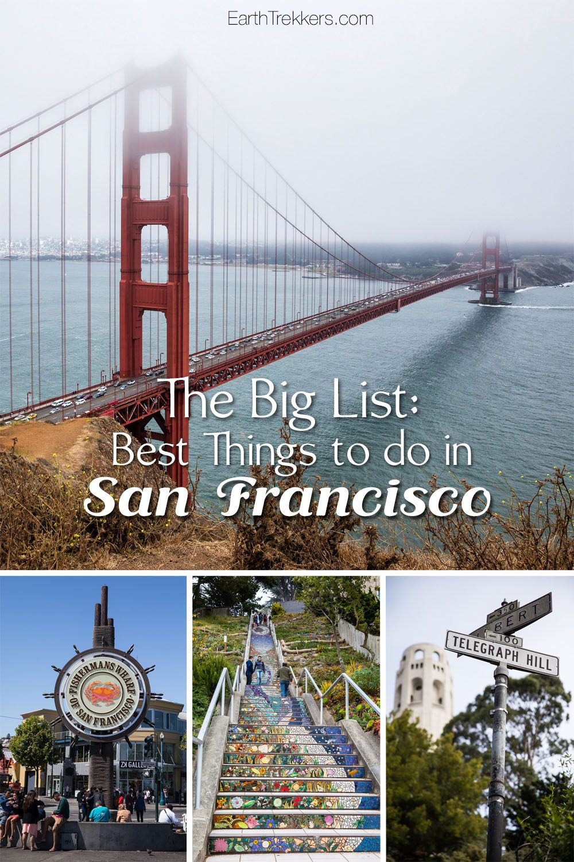 Best things San Francisco Travel