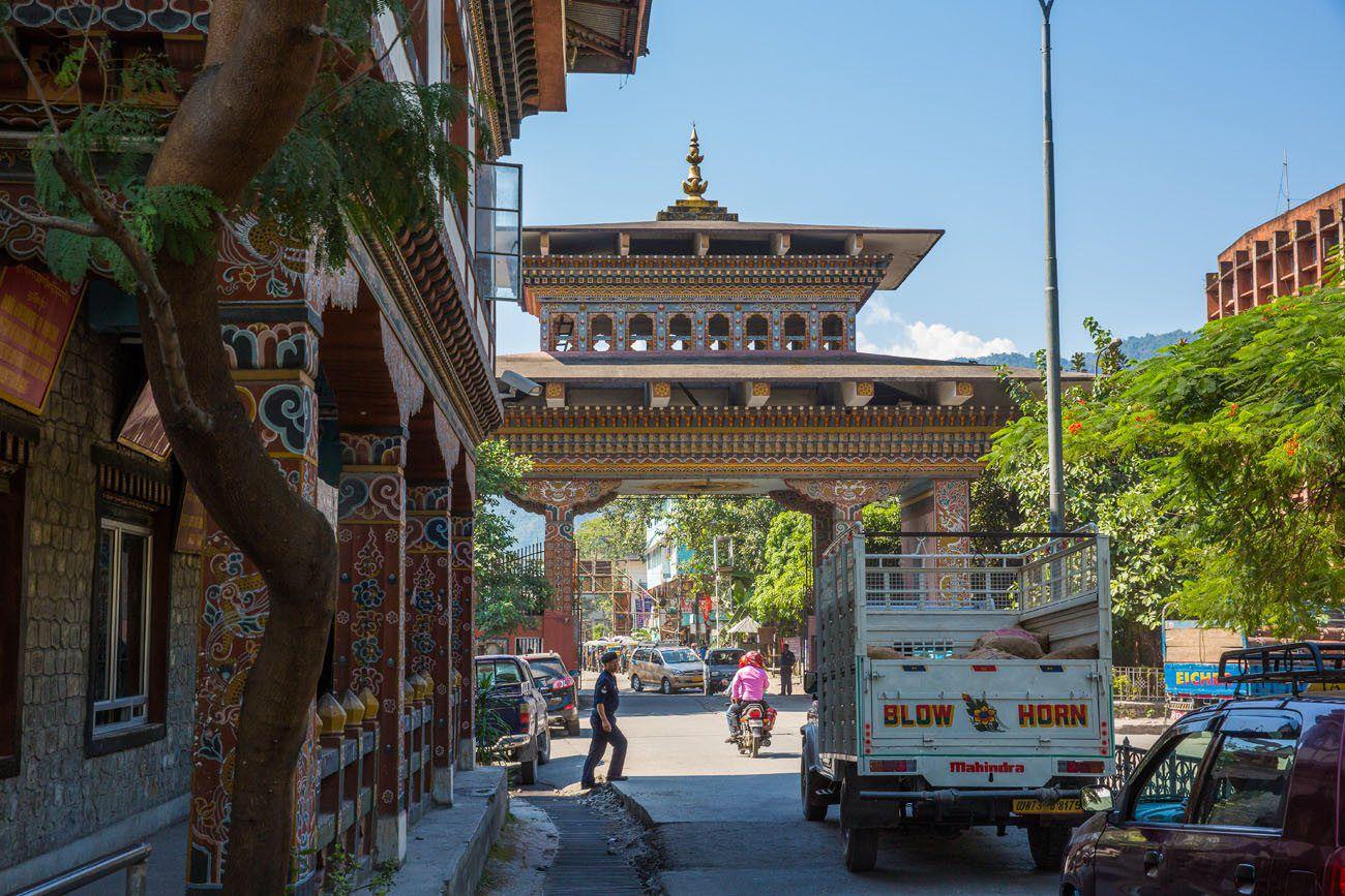 Bhutan Border Gate