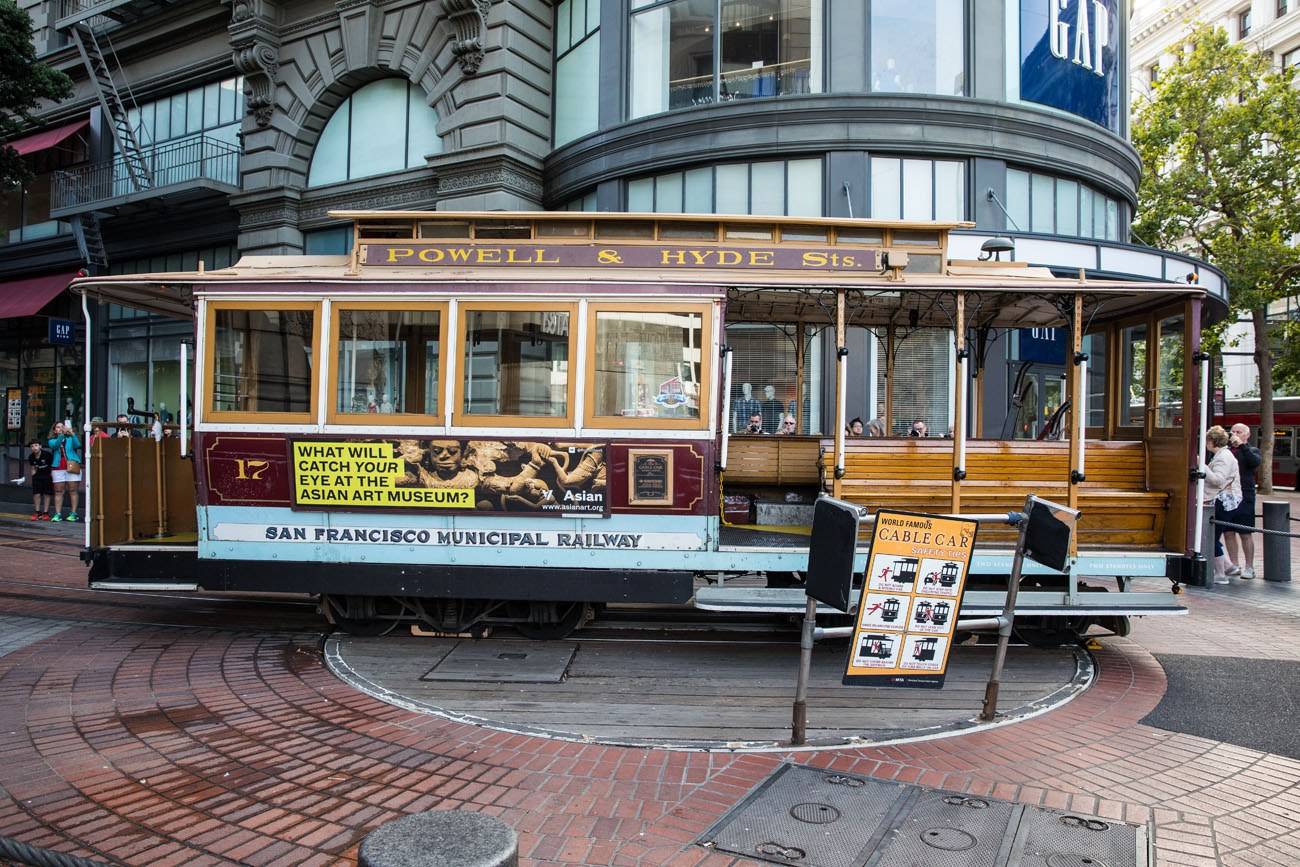 Cable Car Turntable