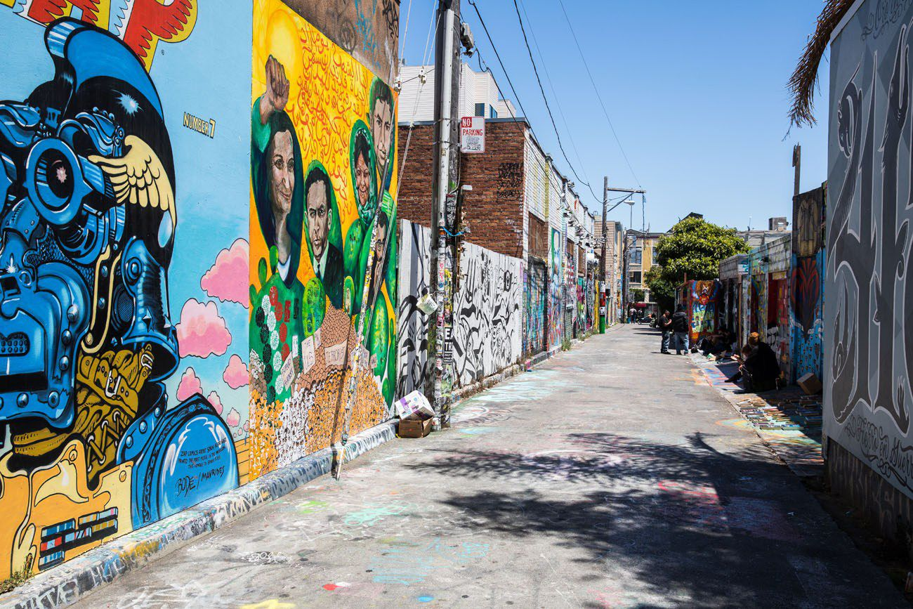 Clarion Alley best things to do in San Francisco
