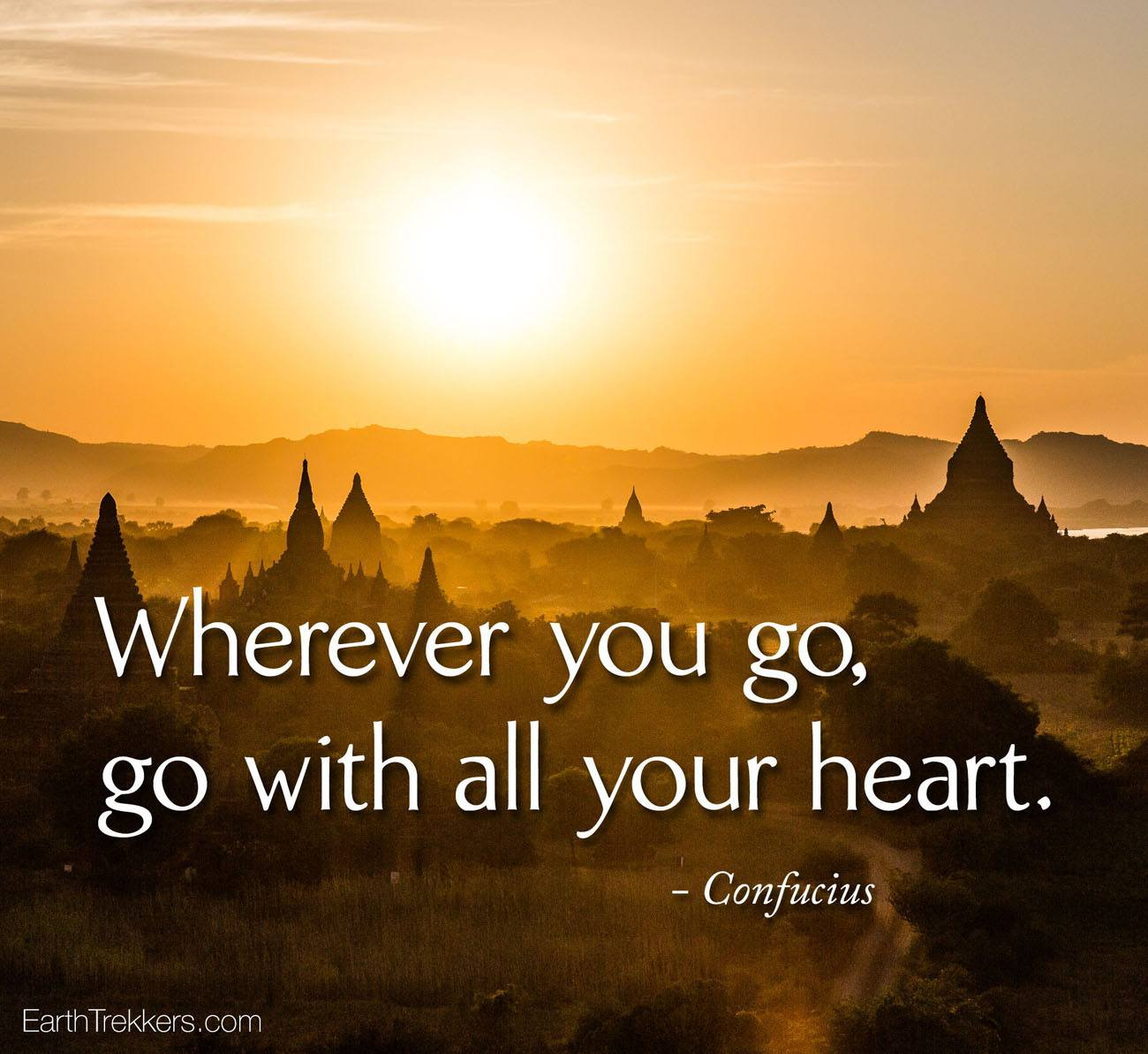 Go with all your heart confucius quote