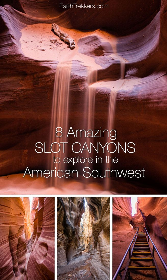 Hike Slot Canyons Southwest USA