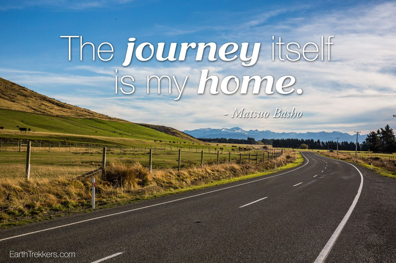 Journey Itself is my home