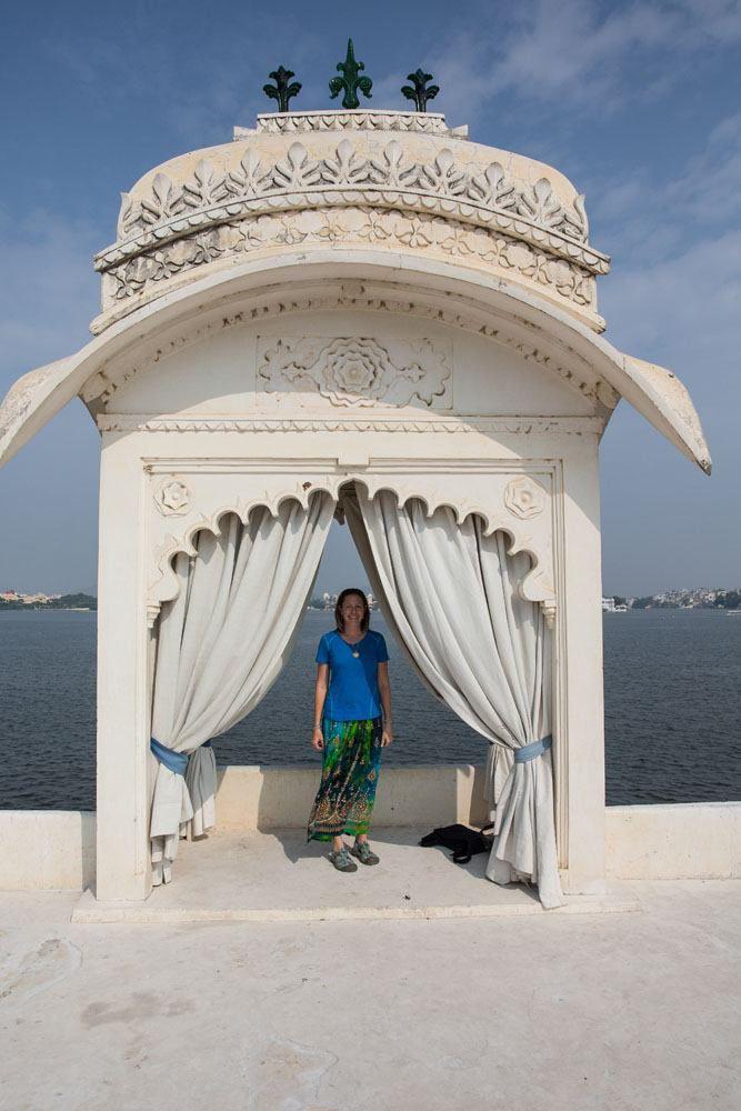 Julie in India