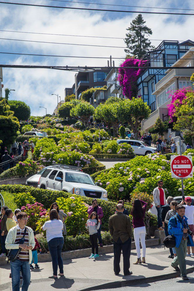 Lombard Street best things to do in San Francisco