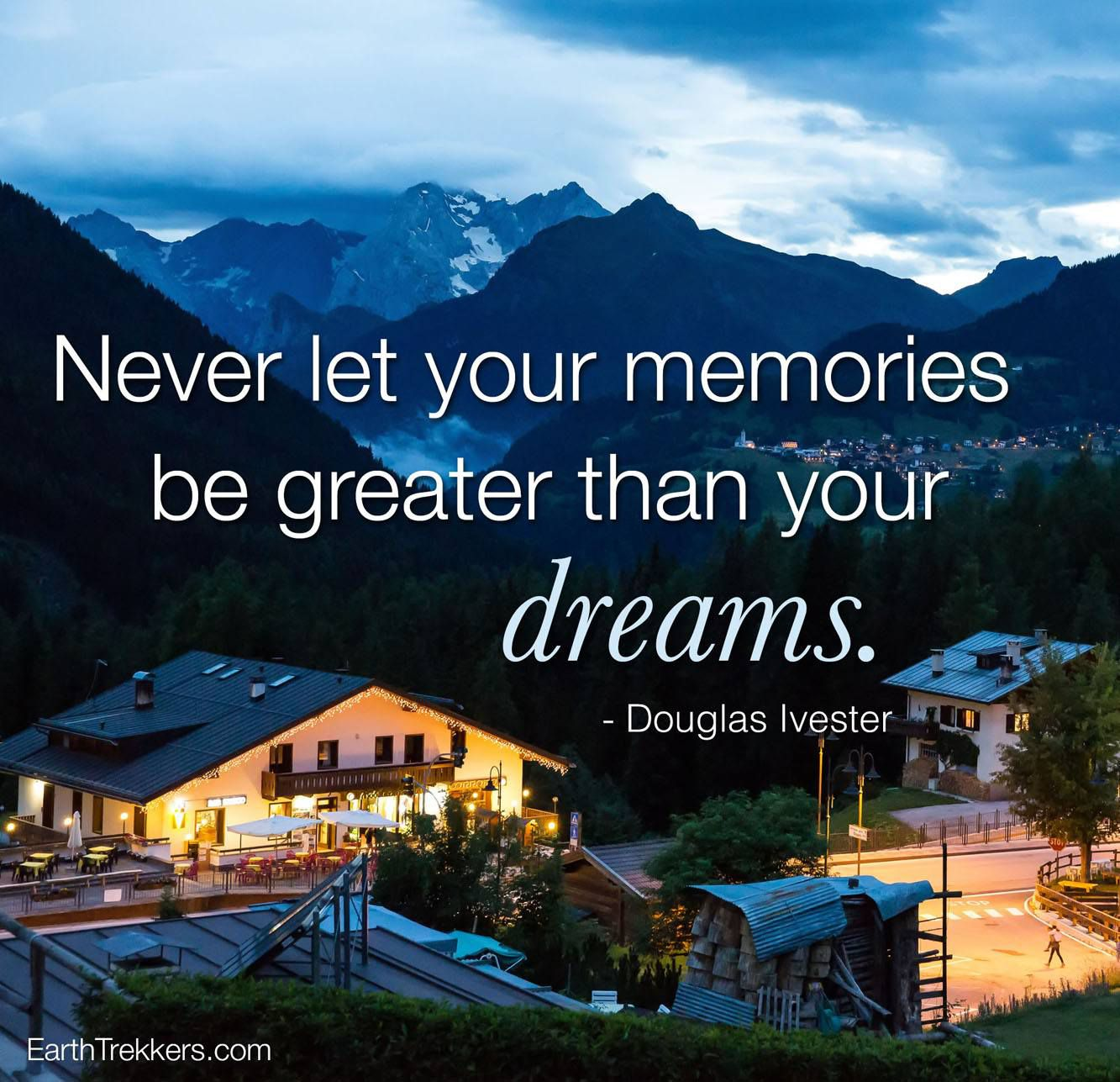 Memories Once A Year Travel Quotes