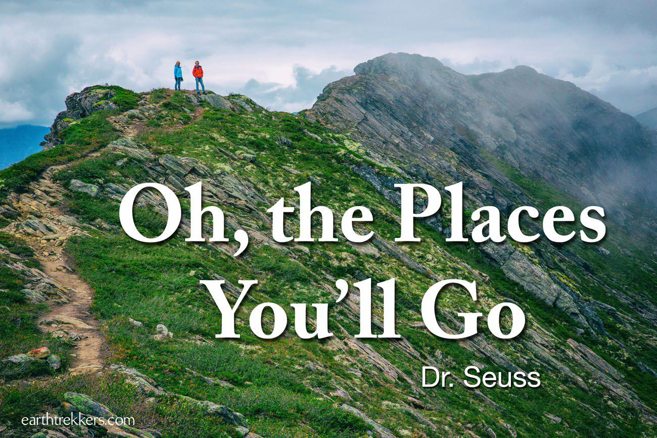 Oh The Places You'll Go Travel Quote