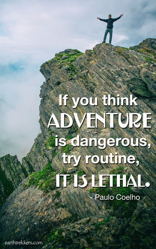 Paulo Coehlo Travel Quote