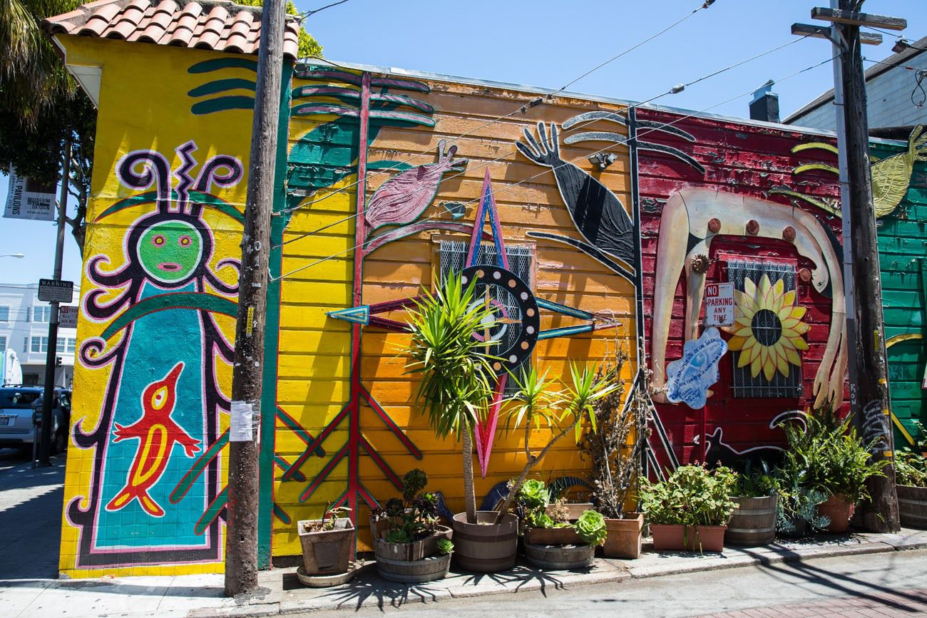 Street Art best things to do in San Francisco