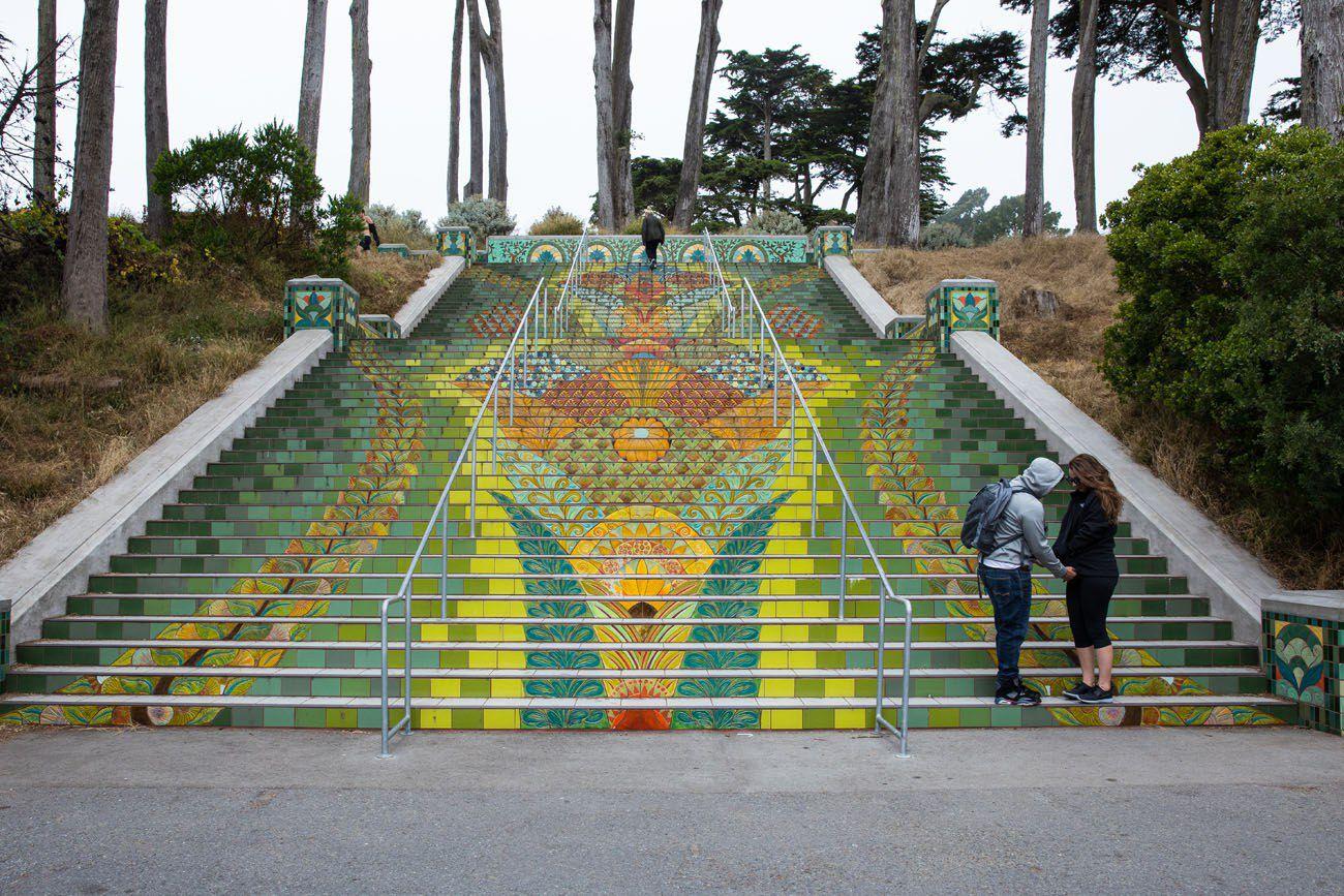 Tiled Steps
