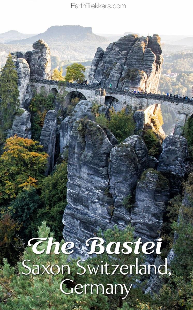 Bastei Saxon Switzerland Germany Day Trip