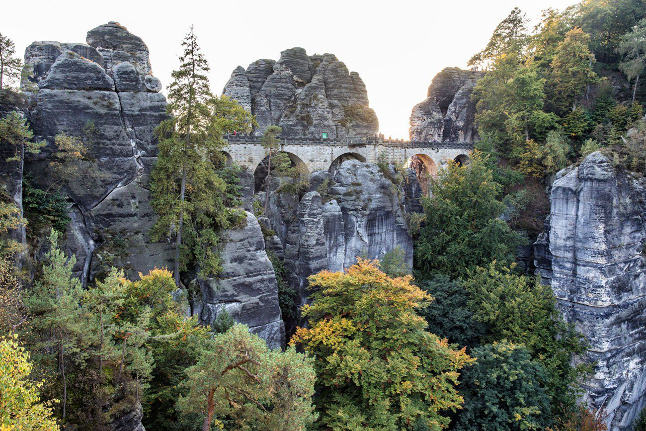 Bastei in September